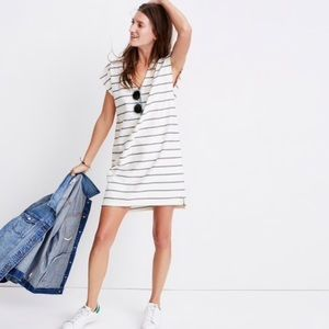 NWT Madewell Vacances Dress in Leta Stripe